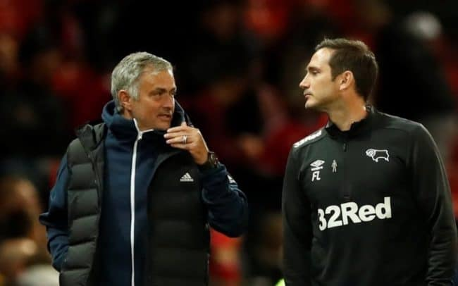 Lampard Mourinho