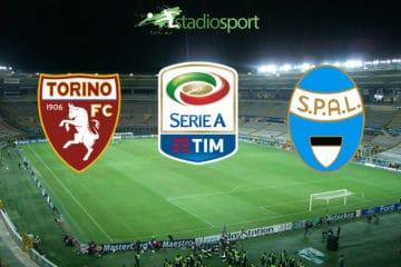 Torino-Spal, 17° giornata di Serie A