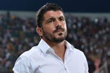 Gennaro Gattuso, 42 anni, allenatore del Napoli