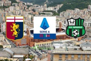 Genoa-Sassuolo, 18° giornata di Serie A
