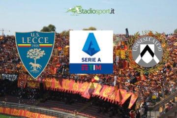 Lecce-Udinese, 18° giornata di Serie A
