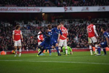 Arsenal - Chelsea - fonte: Twitter Chelsea