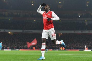 Nicolas Pépé - fonte: Arsenal Twitter