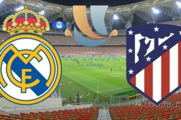 Logo sfida Finale Supercoppa di Spagna, foto pubblica su