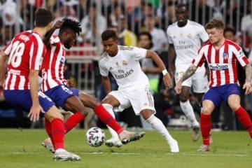 Real Madrid Atletico Madrid - Fonte: Real Madrid twitter