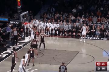 Nel match vinto con gli Atlanta Hawks, i Brooklyn Nets hanno riabbracciato dopo due mesi Kyrie Irving (foto da: youtube.com)