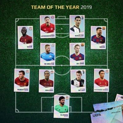 UEFA: la top 11 della Champions League 2018-2019