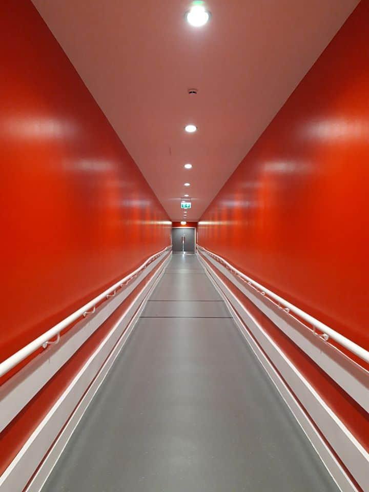 Il corridoio di Anfield, foto pubblica su