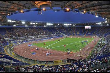 Panoramica dell'Olimpico di Roma, foto pubblica su