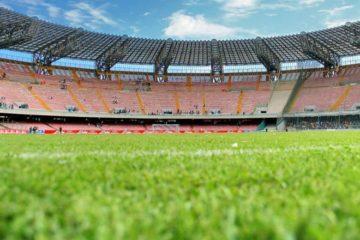 Panoramica interna dal basso del San Paolo