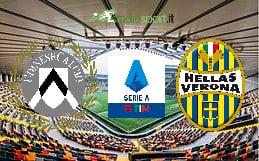 Udinese-Verona, 24esima giornata di Serie A