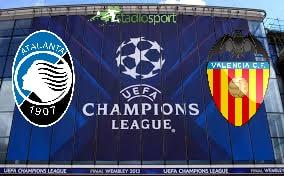 Atalanta-Valencia, andata ottavi di finale di Champions League