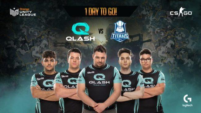 Qlash, azienda che collabora con l'Inter per la creazione di un e-team. fonte: Qlash Twitter