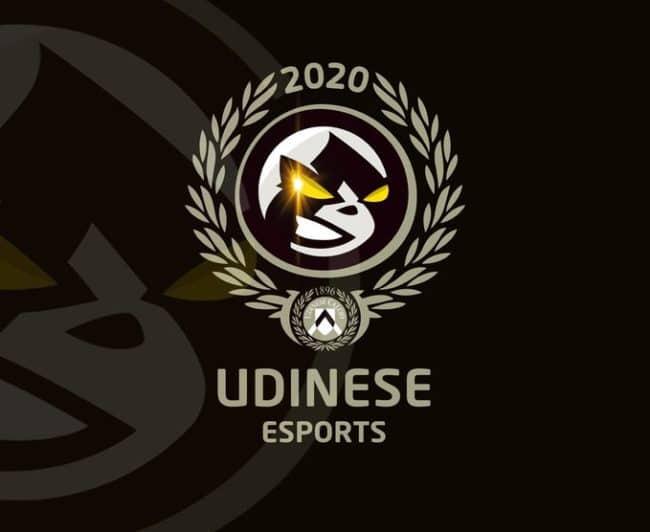 Il logo del nuovo e-sport team dell'Udinese.
