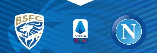 Brescia-Napoli 25° giornata di Serie A