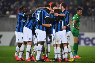 Ludogorets - Inter - fonte: Twitter Lukaku