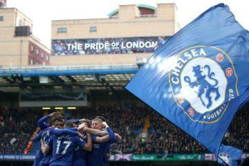 Chelsea - Tottenam - fonte: Chelsea Twitter