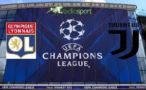 Lione-Juventus, andata ottavi di finale di Champions League