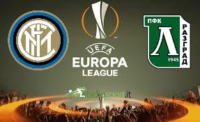 Inter-Ludogorets, ritorno dei sedicesimi di Europa League.