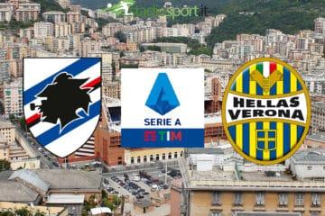 Sampdoria-Verona, 26esima giornata di Serie  A