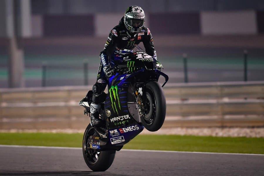Vinales lancia la sfida a Marquez, Fonte Twitter ufficiale Moto Gp