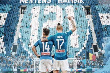 Napoli. Mertens raggiunge Hamsik a quota 121 gol con la maglia del Napoli