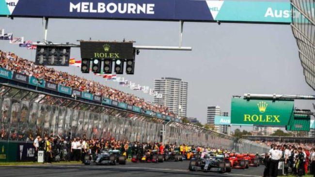 formula 1 GP Melbourne
