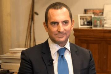 Il ministro per le politiche giovanili e lo sport del governo italiano, Vincenzo Spadafora (foto da: youtube.com)