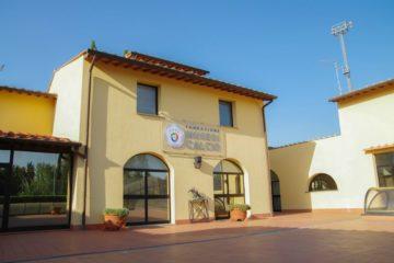 Foto dell'ingresso del Museo FIGC, presente nella pagina