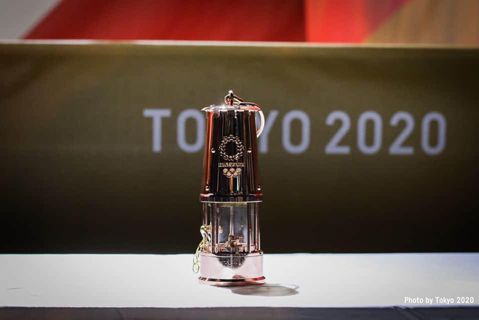 Fiamma olimpica, foto presa dalla pagina ufficiale di Tokyo 2020