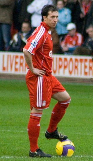 Robbie Fowler con la maglia del Liverpool