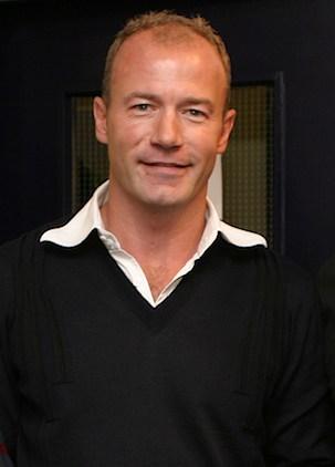 Alan Shearer in un'immagine del 2008
