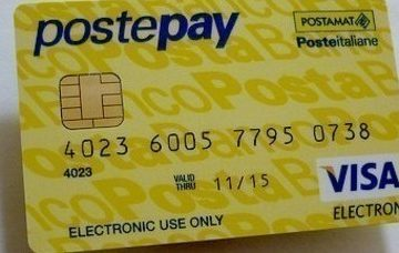 Scommesse sportive con PostePay