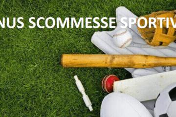 bonus scommesse sportive