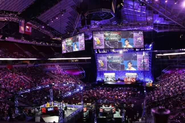 Il torneo annuale di Dota 2 presso la Key Arena di Seattle
