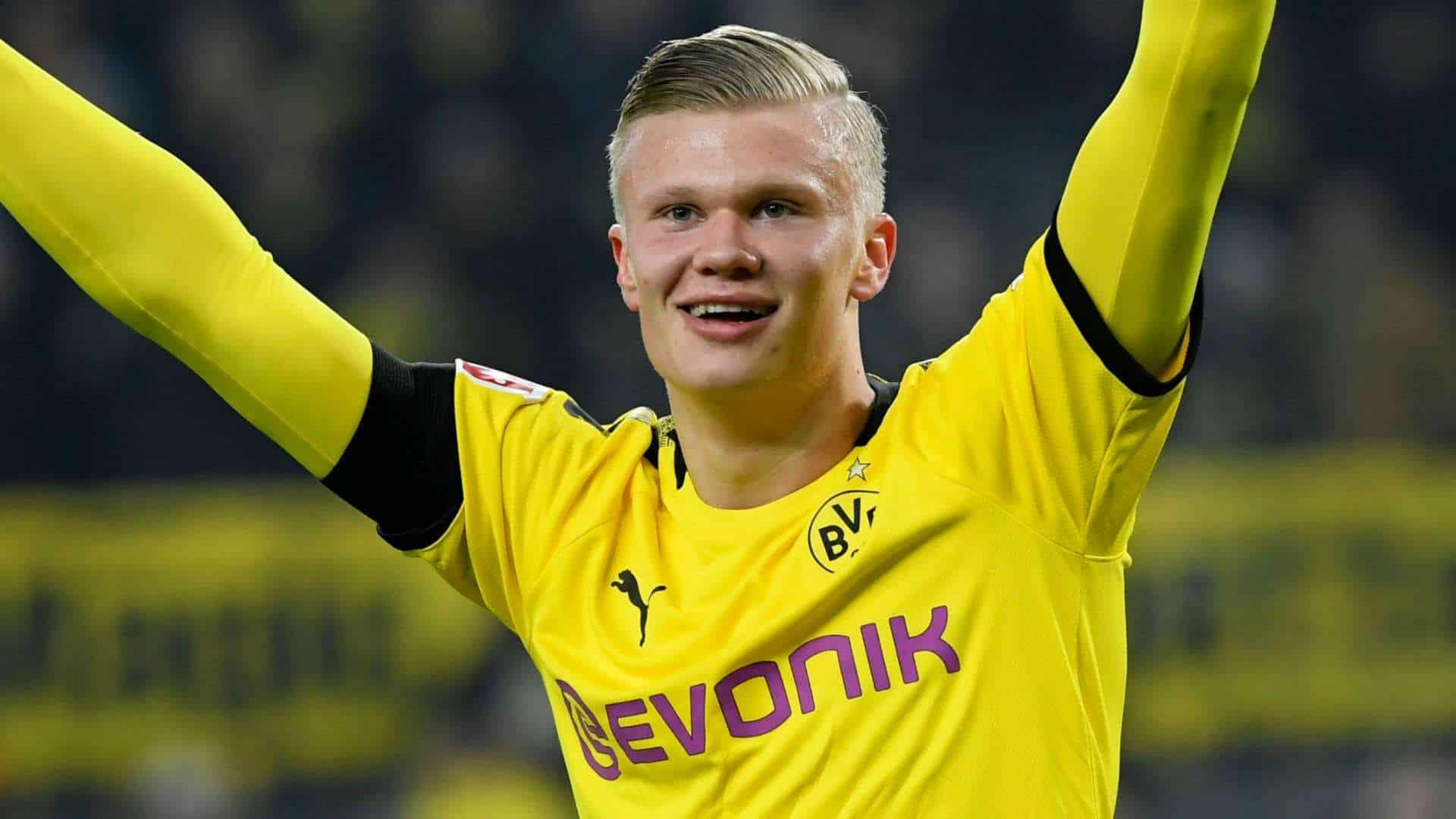 Haaland Lipsia-Borussia Dortmund