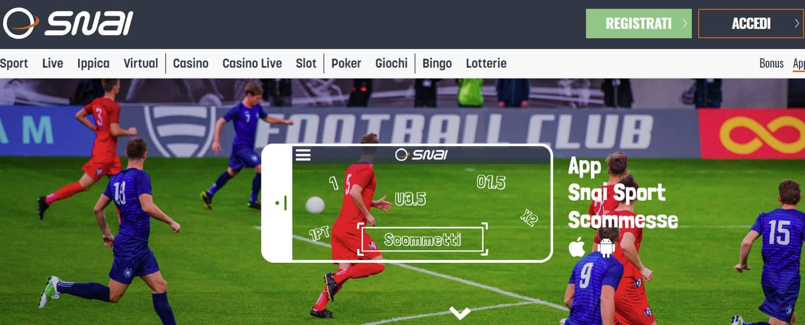 App Snai Sport