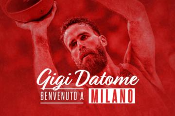 Il capitano della Nazionale, Gigi Datome, saluta il Fenerbahçe e torna in Italia (foto da: twitter.com)