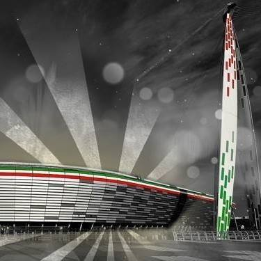 Stilizzazione dello Juventus Stadium