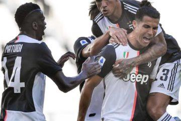 Esultanza al gol di Cristiano Ronaldo, fonte pagina
