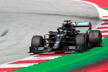 Lewis Hamilton, autentico dominatore del Gran Premio di Stiria 2020 (foto da: twitter.com/MercedesAMGF1)