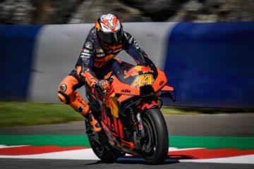 Pol Espargaro e la KTM centrano nel Gran Premio di Stiria la prima pole in MotoGP (foto da: motogp.com)