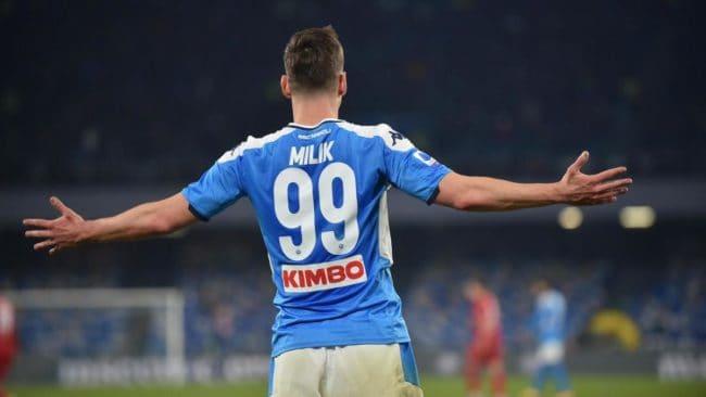 Calciomercato: Milik chiede il rinnovo di contratto