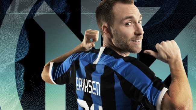 Calciomercato Inter: Eriksen è in vendita