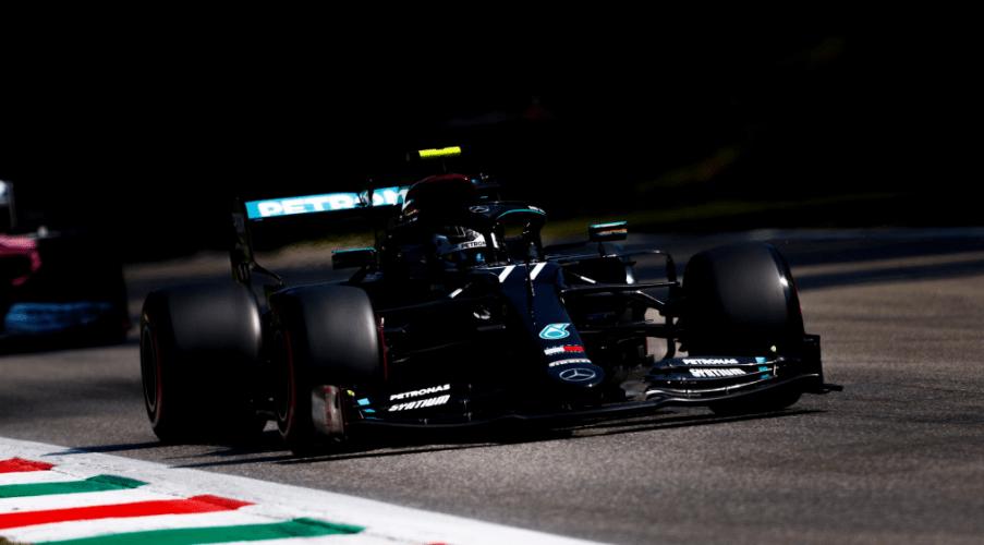 Miglior tempo per Valtteri Bottas nella terza sessione di libere a Monza (foto da: twitter.com)