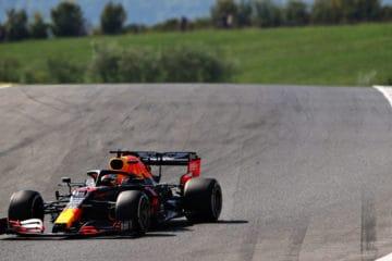 Max Verstappen, durante la prima sessione di libere al Mugello (foto da: twitter.com/redbullracing)
