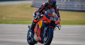 Brad Binder, autore del miglior tempo nelle PL2 del Gran Premio dell'Emilia Romagna a Misano Adriatico (foto da: motogp.com)