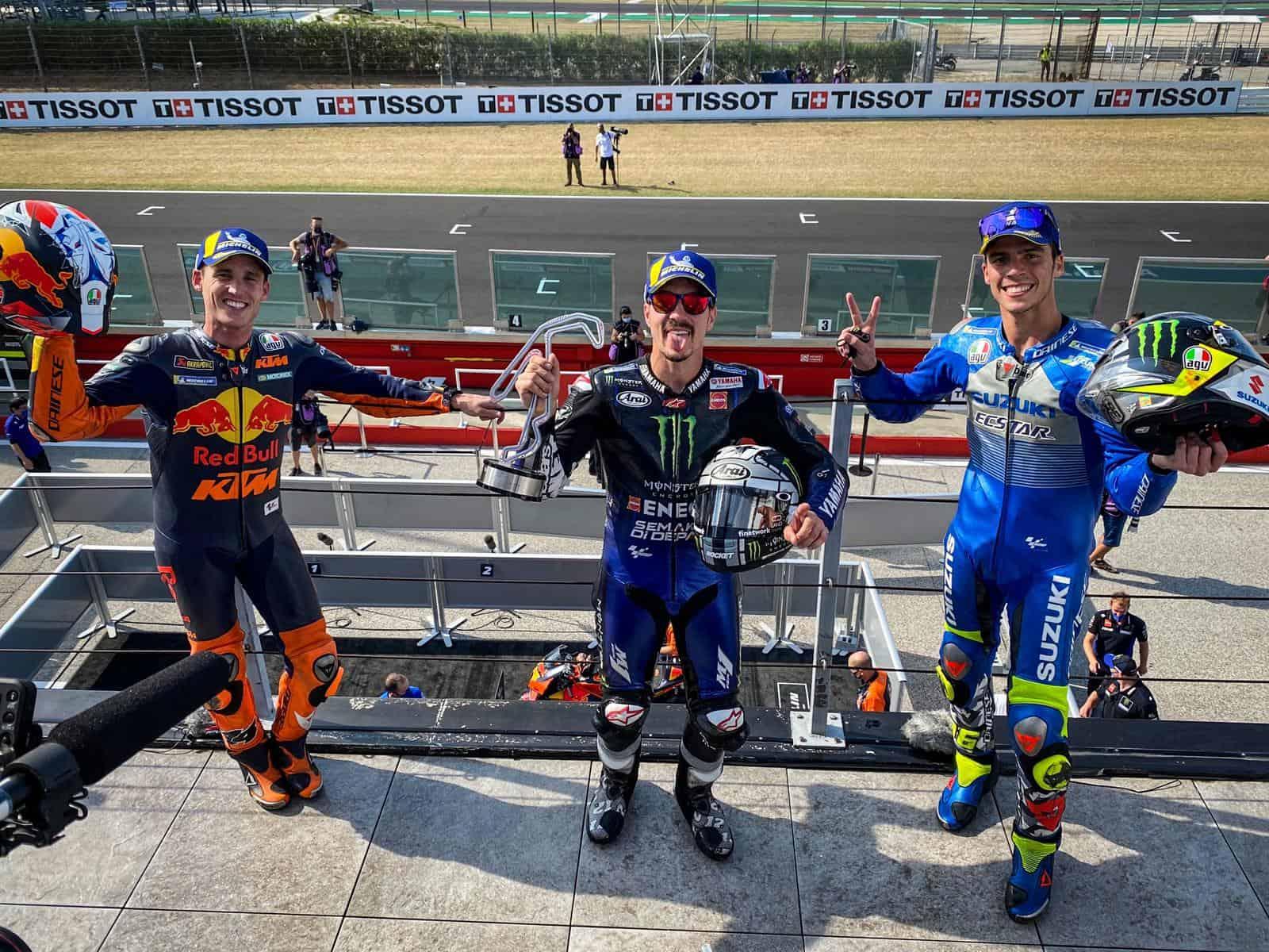 podio-motogp-misano-vince-vinales