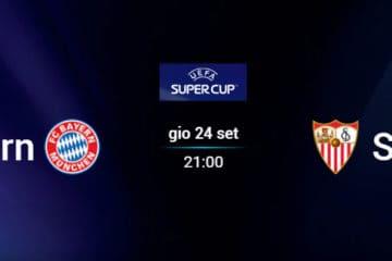 Pronostico Bayern Monaco-Siviglia, finale Supercoppa Europea 2020