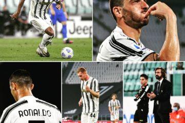 Patchwork con immagini del match, fonte
